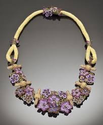flower bead necklace images 124 best beaded flower necklaces images beading jpg