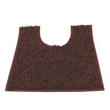 Bathroom Contour Rugs Amazon Com Vdomus Contour Bath Rug Soft Shaggy U Shaped Toilet