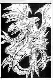 yugioh coloring pages dragon yu gi oh blue eyes ultimate dragon