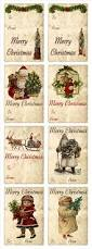 vintage christmas tags homespun christmas pinterest