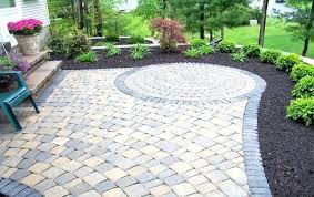 Rock Patio Designs Rock Patio Landscaping Backyard Designs Appealing Design