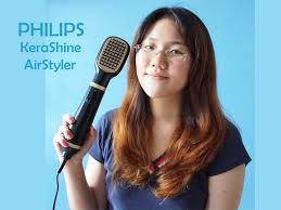Lebih Bagus Hair Dryer Panasonic Atau Philips how to use philips kerashine airstyler review