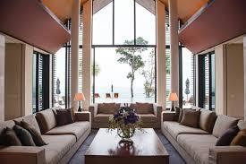 Livingroomvaultedceiling Interior Design Ideas - Thai style interior design