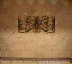 Tumbled Travertino Fiorito Backsplash Wall Tiles Travertino - Backsplash travertine tile