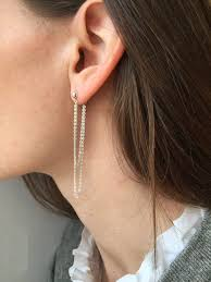 front and back earrings best 25 front back earrings ideas on jacket earrings