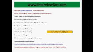 Sample Resume For Software Developer Job Resume Software Engineer