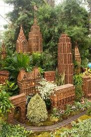 Train Show Botanical Garden by Model Railroads For Outside The New York City Botanical Garden