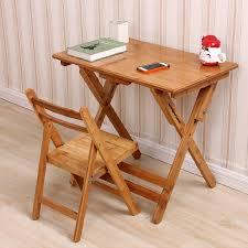 Small School Desk Usd 116 82 Bamboo Child School Desk Folding School Desk Can Lift