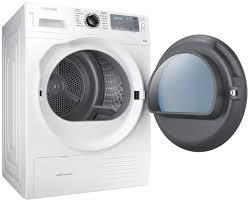 Clothes Dryer Good Guys Samsung Dv90h8000hw 9kg Heat Pump Dryer Appliances Online