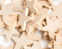 25 wood stars diy christmas ornaments unfinished wood