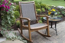 Garden Rocking Bench The Best Styles Of Outdoor Rocking Chairs Styles Designs