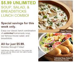 olive garden 5 99 unlimited soup salad and breadsticks lunch combo