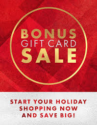 gift cards sale gene juarez bonus gift card sale the bravern
