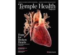 Human Anatomy Martini Temple Health Magazine U2013 B U0026g Design Studios