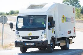 postal vehicles renault trucks corporate press releases the french post office