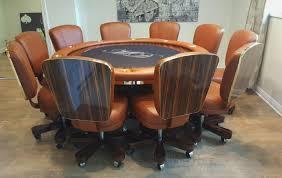 Custom Poker Tables Round Poker Tables Gallery Pharaoh Usa