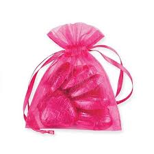 pink organza bags hot pink organza bags party fever