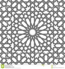 Moroccan Tile by Islamic Vector Geometric Ornaments Traditional Arabic Art