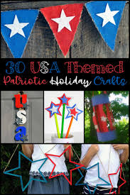 30 usa themed patriotic holiday crafts caffeine and saltwater