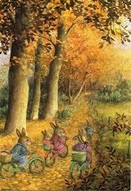 susan wheeler cards susan wheeler pond hill autumn fall thanksgiving greeting card