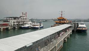 slow going at marina south pier as it lacks appeal of clifford