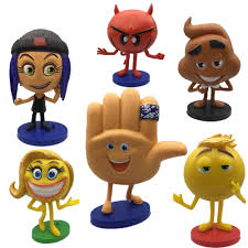 the emoji movie jailbreak can u0027t dance youtube 6pcs set 2017 emoji movie action figures hi 5 jailbreak gene