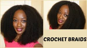 difference between afro twist and marley hair natural looking crochet braids with cuban twist hair 4b 4c