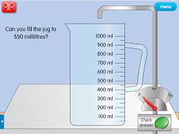 measuring jug a year 5 capacity resource for interactive whiteboards
