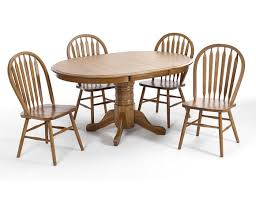 Oak Table With Windsor Back Chairs Steinhafels Dining Tables