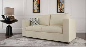 Two Seaters Sofa Get Modern Complete Home Interior With 20 Years Durability Two