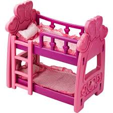 Badger Basket Hearts Doll Bunk Bed Walmartcom - Dolls bunk bed