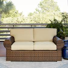 Discount Wicker Furniture Furniture Mesmerizing Wicker Loveseat For Outdoor Or Indoor