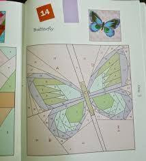 handmadewhimzy butterfly pattern paper piecing how to