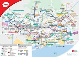 Madrid Subway Map Map Of Barcelona Subway Underground U0026 Tube Metro Stations U0026 Lines
