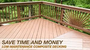 low maintenance composite decking tri county fence u0026 deck