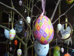 easter tree and decorations mousy brown u0027s house creating