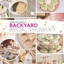Backyard Bridal Shower Ideas How To Throw A Fabulous Outdoor Bridal Shower On A Budget