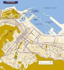 Cabo Map Visitors U0027 Guide To Cape Town U0026 Western Cape Cape Town City Map