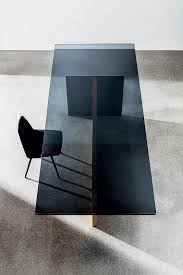 black glass table top 30 ways to incorporate a glass dining table into your interior
