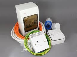240v mains hook up installation kit 12 volt planet