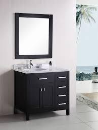 London Single Bath Vanity Style  White - Bathroom vanitis 2