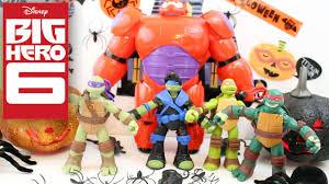 big hero 6 baymax and teenage mutant ninja turtles halloween play
