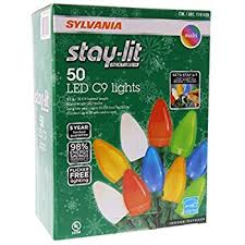 sylvania stay lit platinum led indoor outdoor