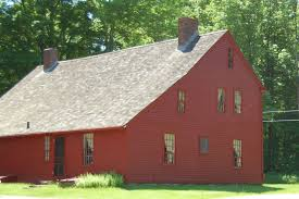 Colonial Saltbox Elevation Of Tolland County Ct Usa Maplogs