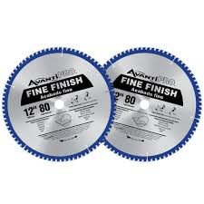 Circular Saw Blade For Laminate Flooring Avanti Pro 12 In X 80 Tooth Fine Finish Saw Blade 2 Pack