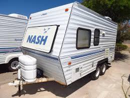 nash travel trailer floor plans 1995 northwood nash 16t travel trailer tucson az freedom rv az