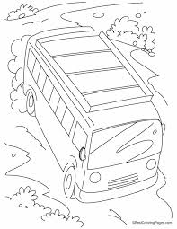 coloring pages download free fast moving bus on a slope coloring pages download free fast