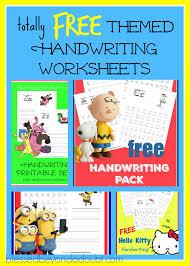 free handwriting practice create your own worksheets i lauren