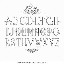 decorative letters stock images royalty free images vectors