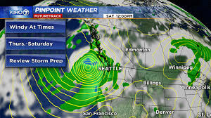 Seattle Weather Map by Here U0027s What U201cworst Case Scenario U201d Means For Saturday Storm Kiro Tv